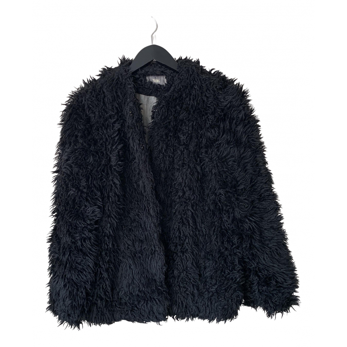 Zadig & Voltaire Fall Winter 2019 Black Faux fur jacket for Women S International