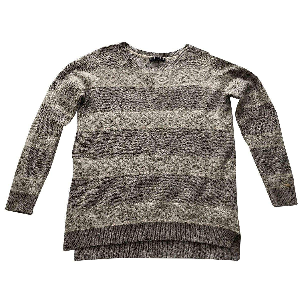 Tommy Hilfiger \N Pullover in  Grau Baumwolle
