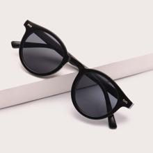 Minimalistische Sonnenbrille mit Acryle Rahmen