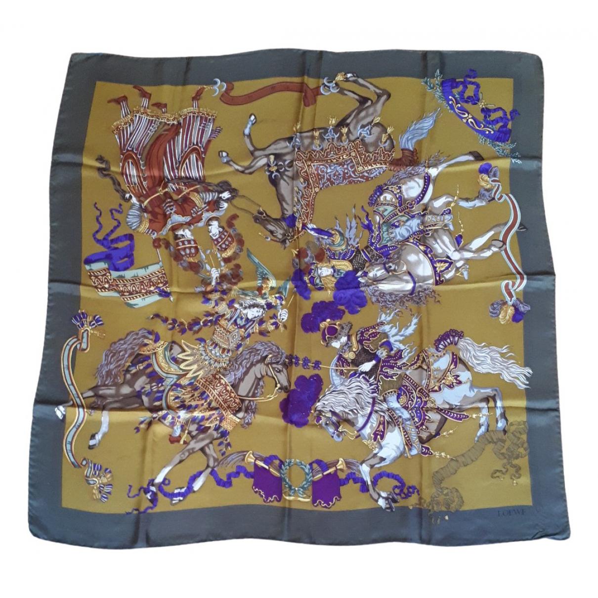 Pañuelo de Seda Loewe