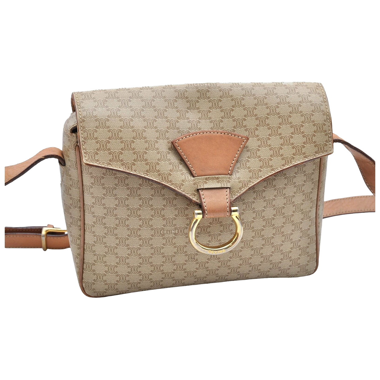 Celine N Beige Leather handbag for Women N