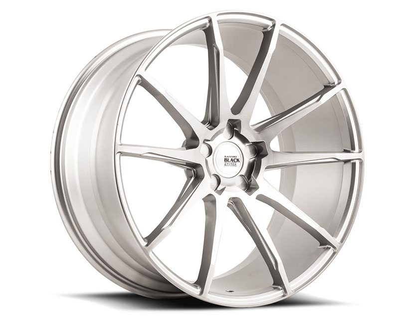 Savini BM12-20100520R3579 di Forza Brushed Silver BM12 Wheel 20x10.0 5x120 35mm