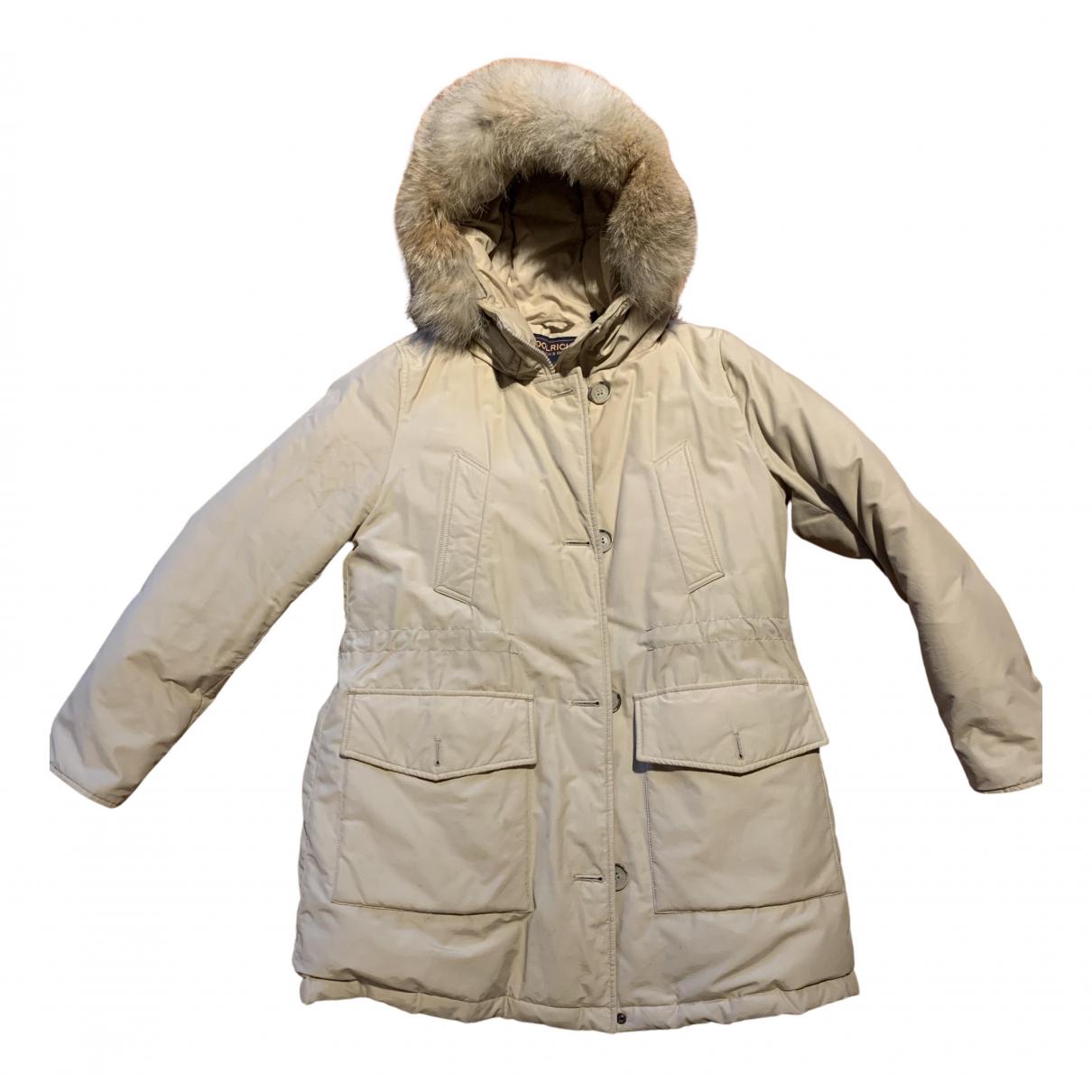 Woolrich - Veste   pour femme en coton - beige