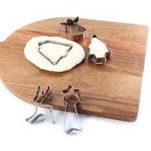 6 Stuecke Edelstahl Keksform