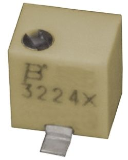 Bourns 100Ω, SMD Trimmer Potentiometer 0.25W Top Adjust , 3224