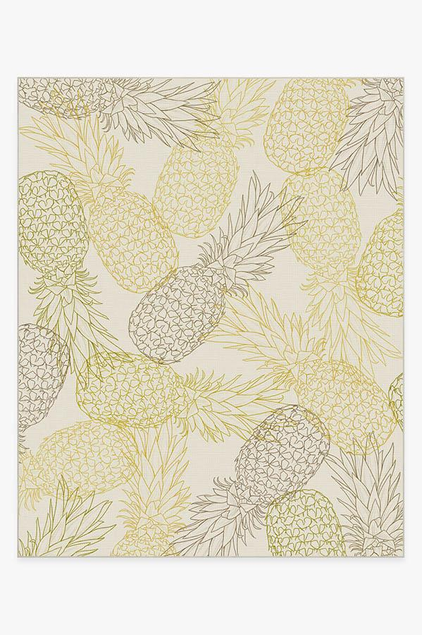 Washable Rug Cover & Pad | Pina Natural Rug | Stain-Resistant | Ruggable | 8'x10'