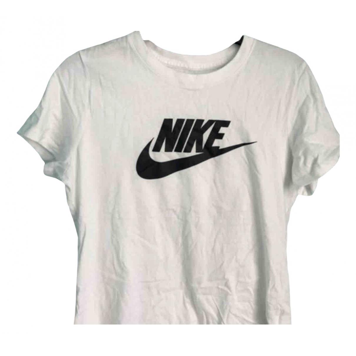 Nike \N White Cotton  top for Women 10 UK