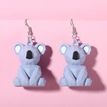 Ohrringe mit Koala Anhaenger