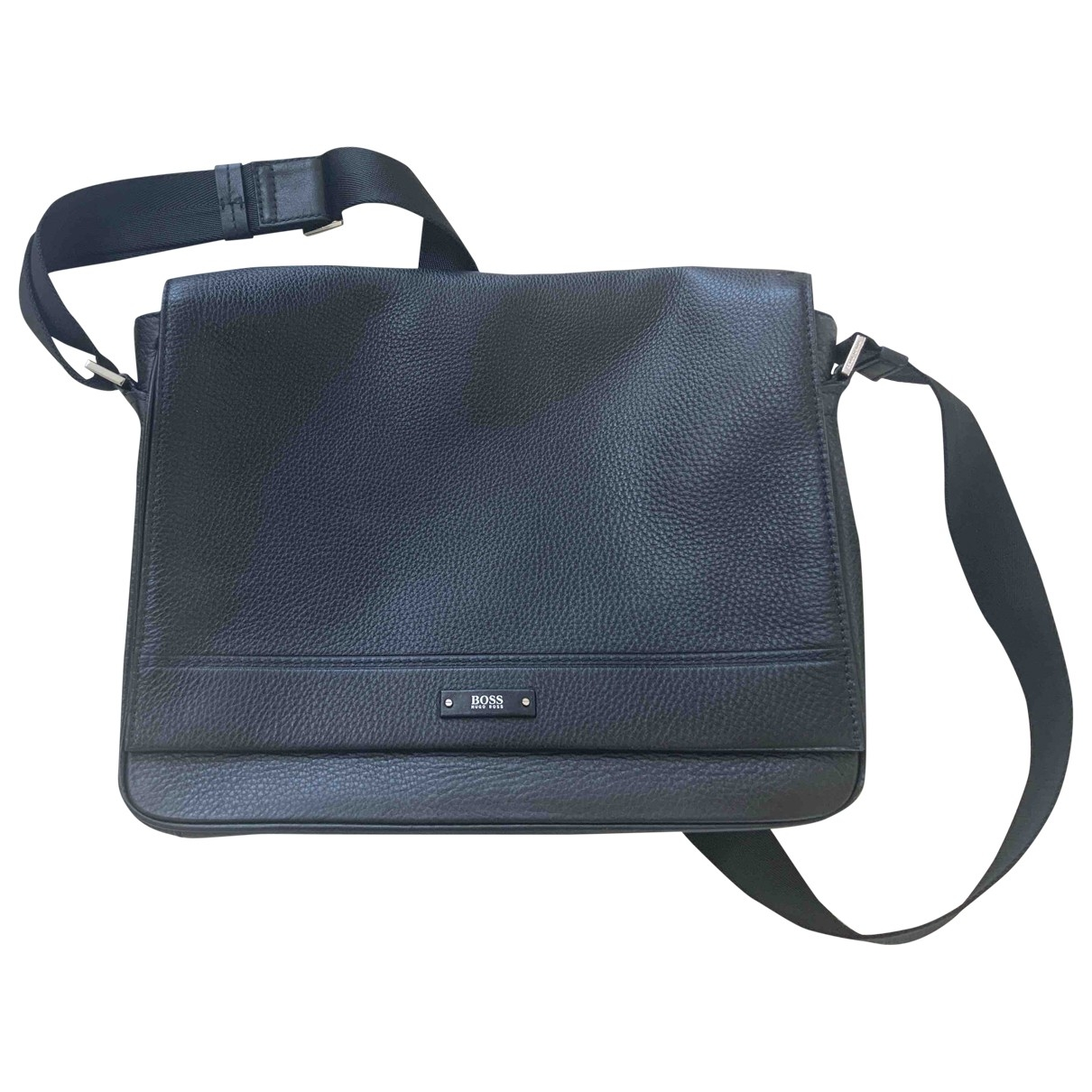 Boss \N Black Leather bag for Men \N