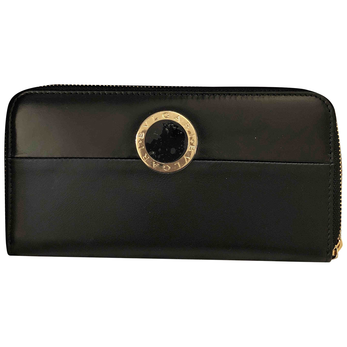 Bvlgari \N Black Leather wallet for Women \N