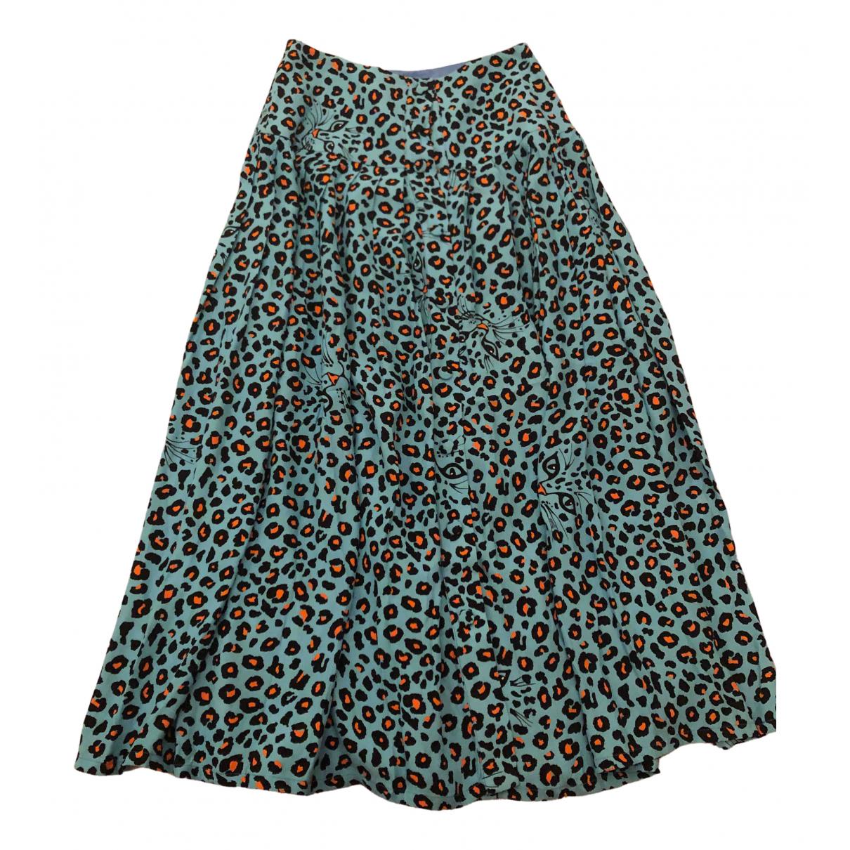 Vivetta N Turquoise skirt for Women 42 IT