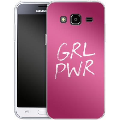 Samsung Galaxy J3 (2016) Silikon Handyhuelle - GRLPWR von caseable Designs