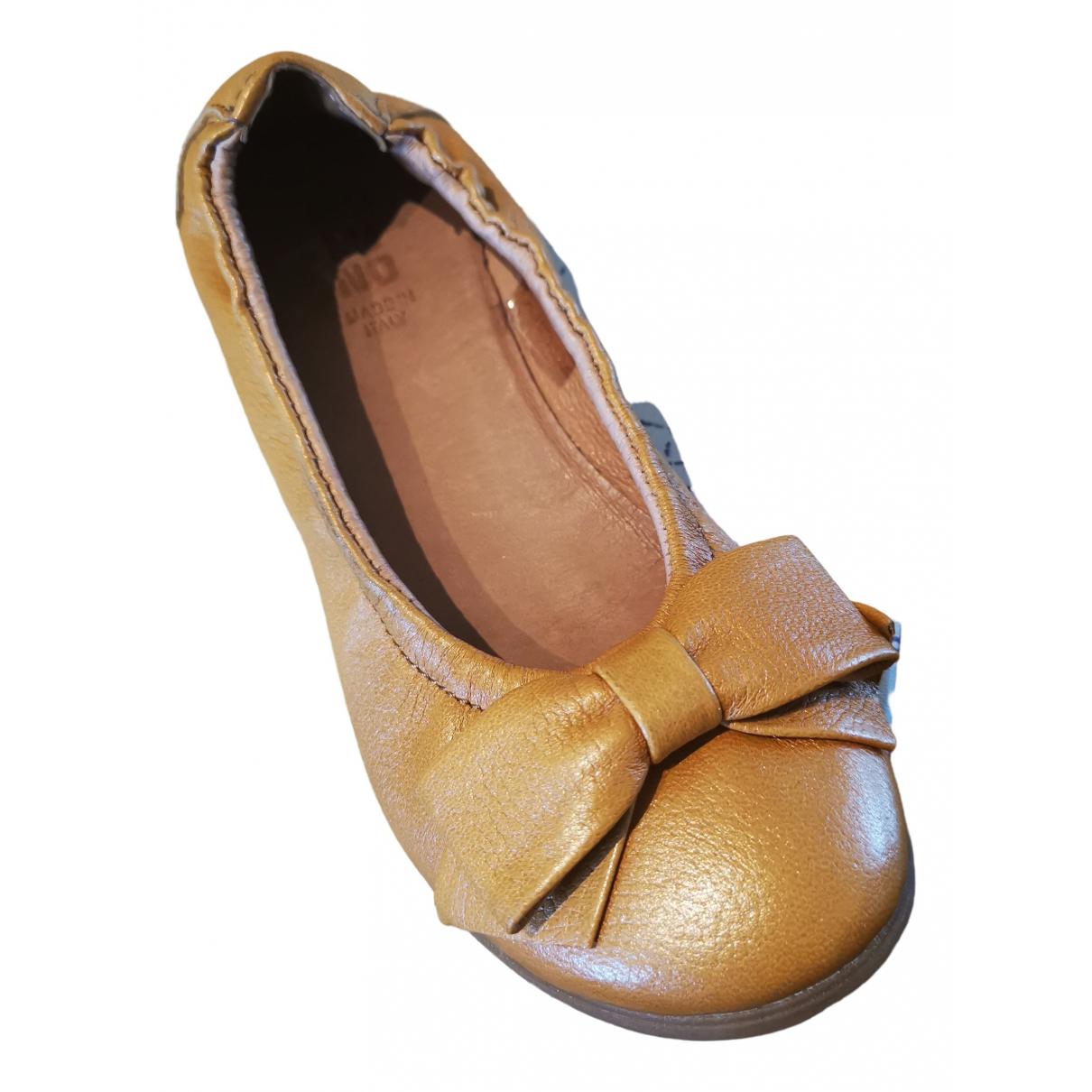 Moma \N Ballerinas in  Kamel Leder