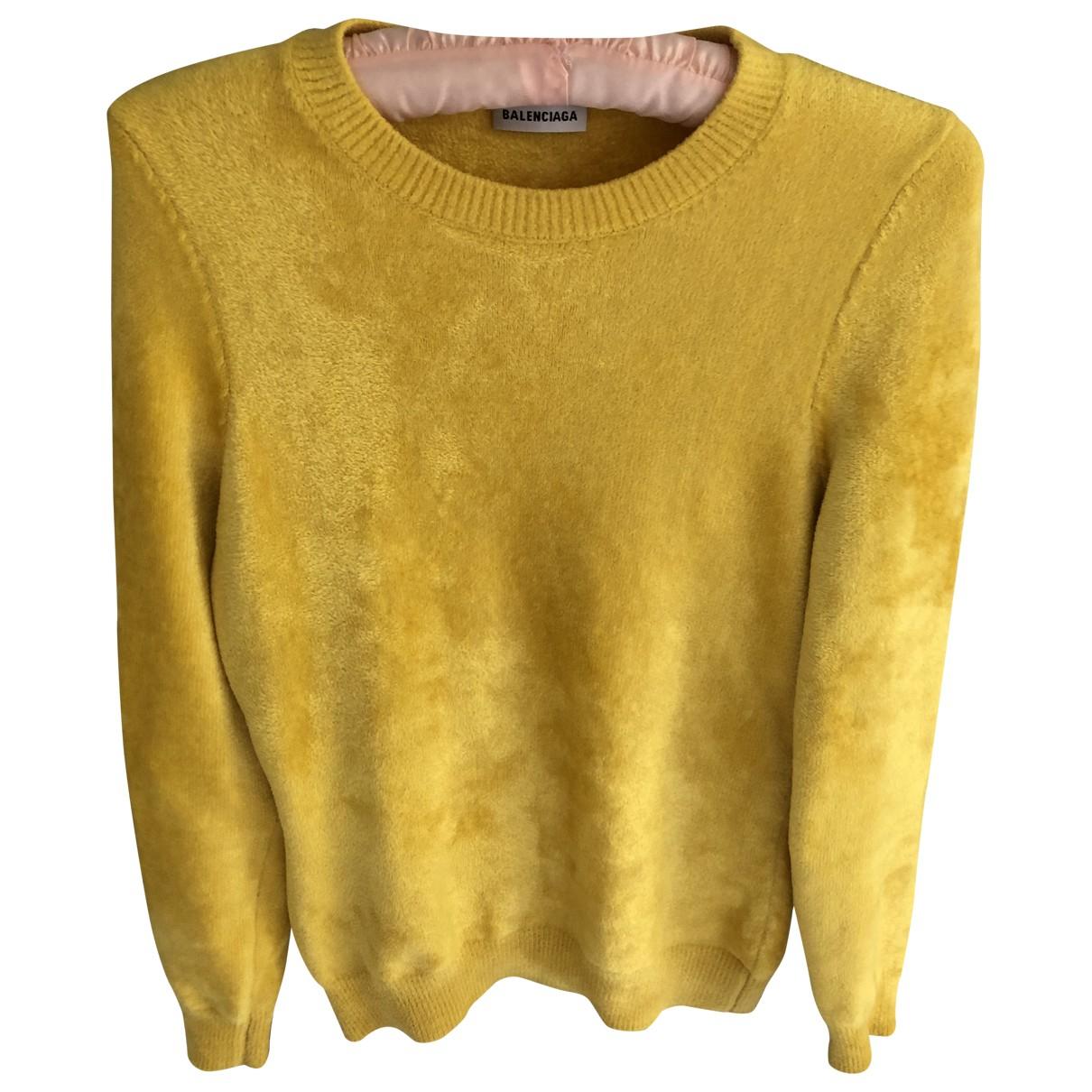 Balenciaga \N Yellow Knitwear for Women 44 IT