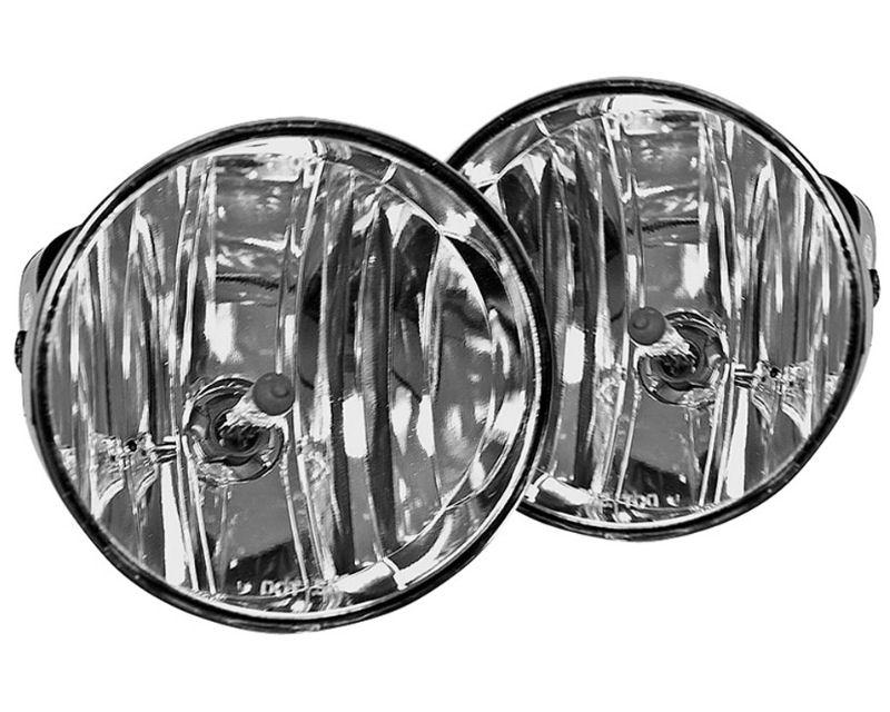 Winjet WJ30-0206-09 Clear Fog Lights GMC Envoy 02-08