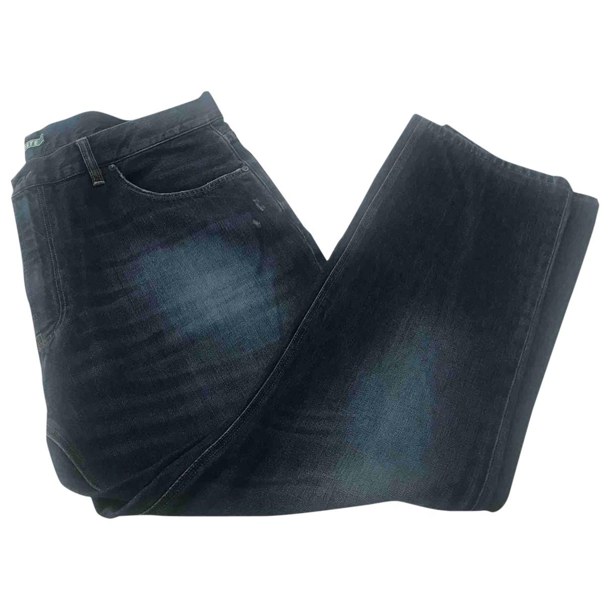 Lacoste \N Blue Cotton Jeans for Men 42 FR