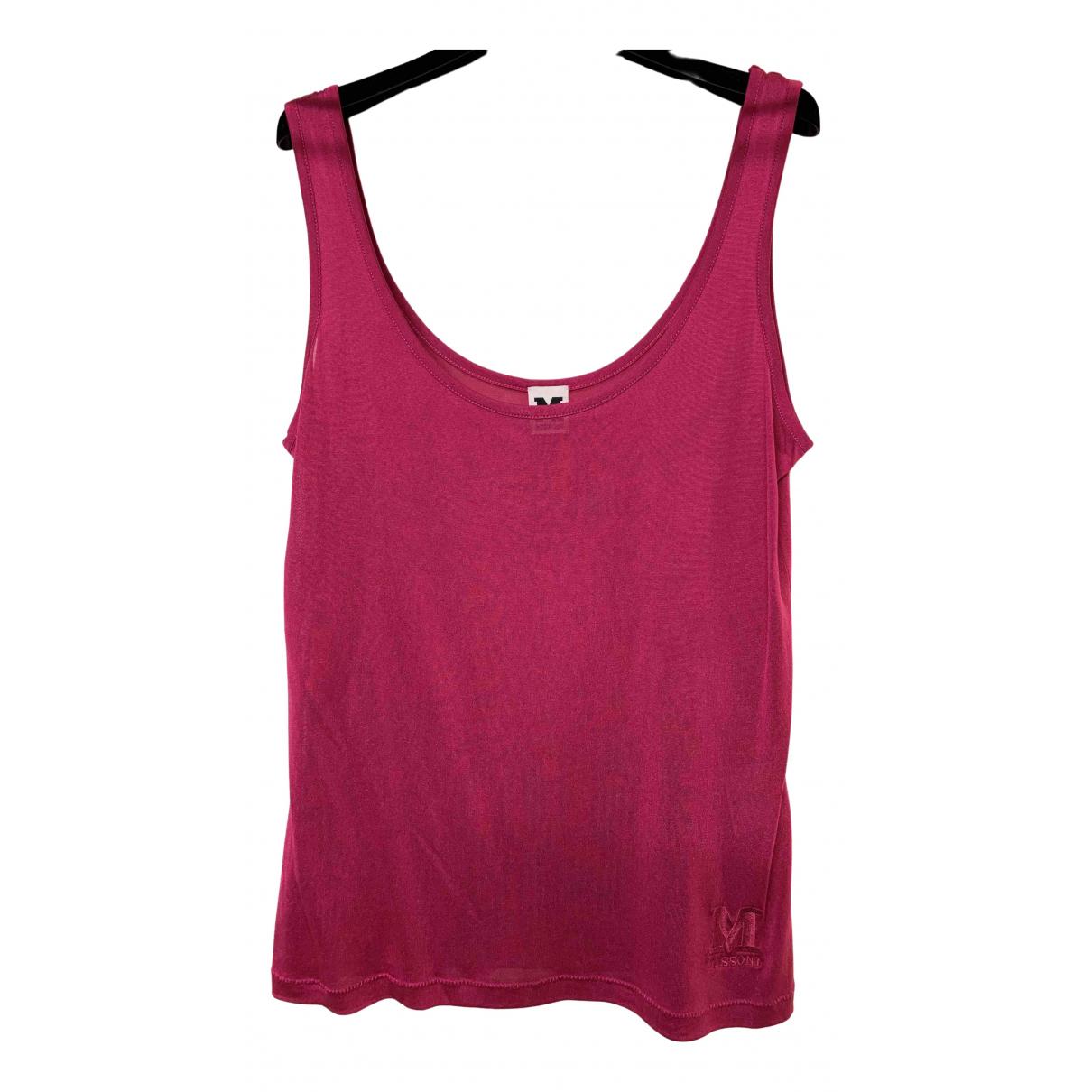M Missoni \N Pink Silk  top for Women 48 IT