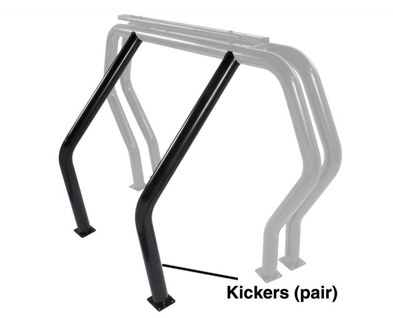 Go Rhino 9560B! Bed Bars - Pair of Kickers (Between Wheel Wells)