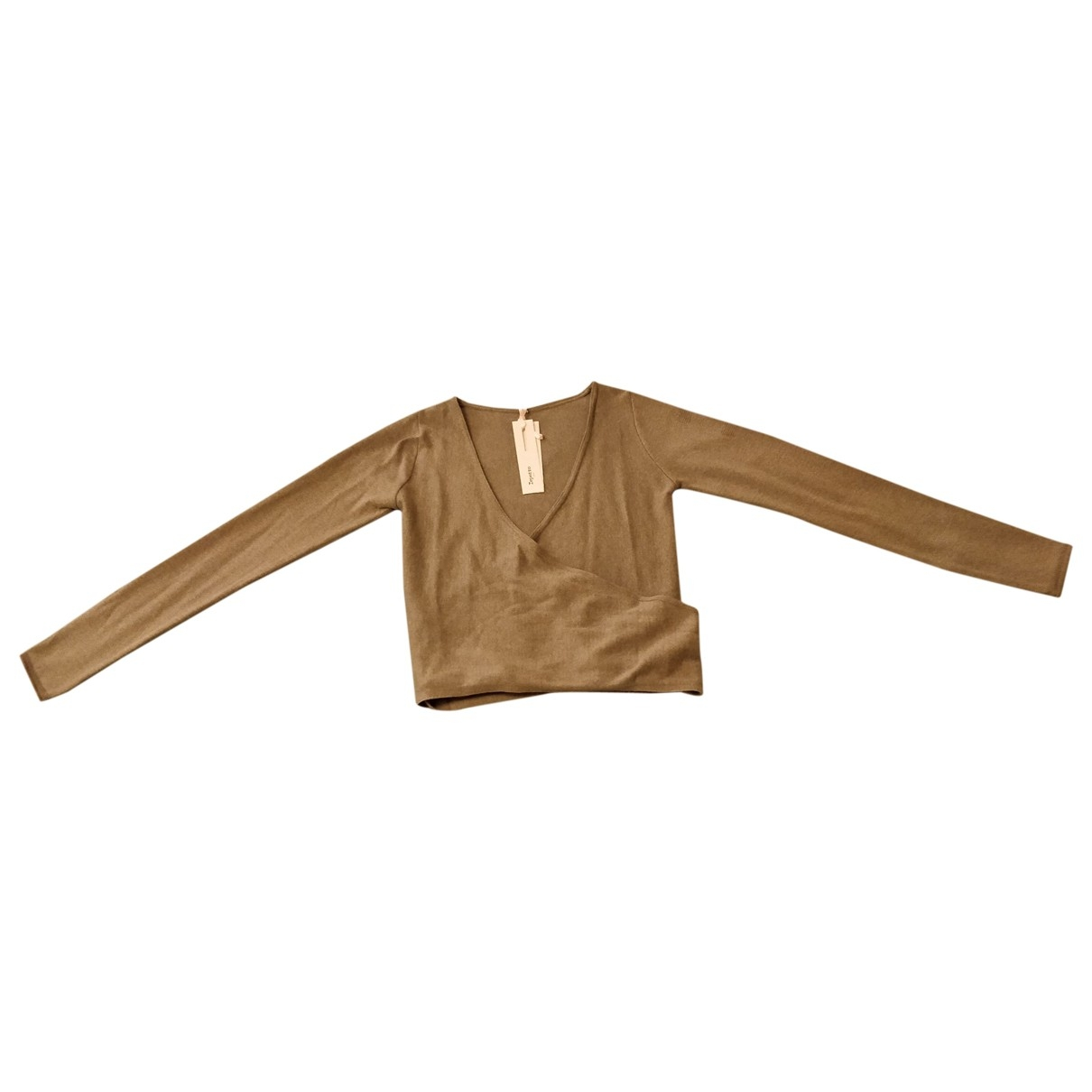 Repetto - Pull   pour femme en coton - gris