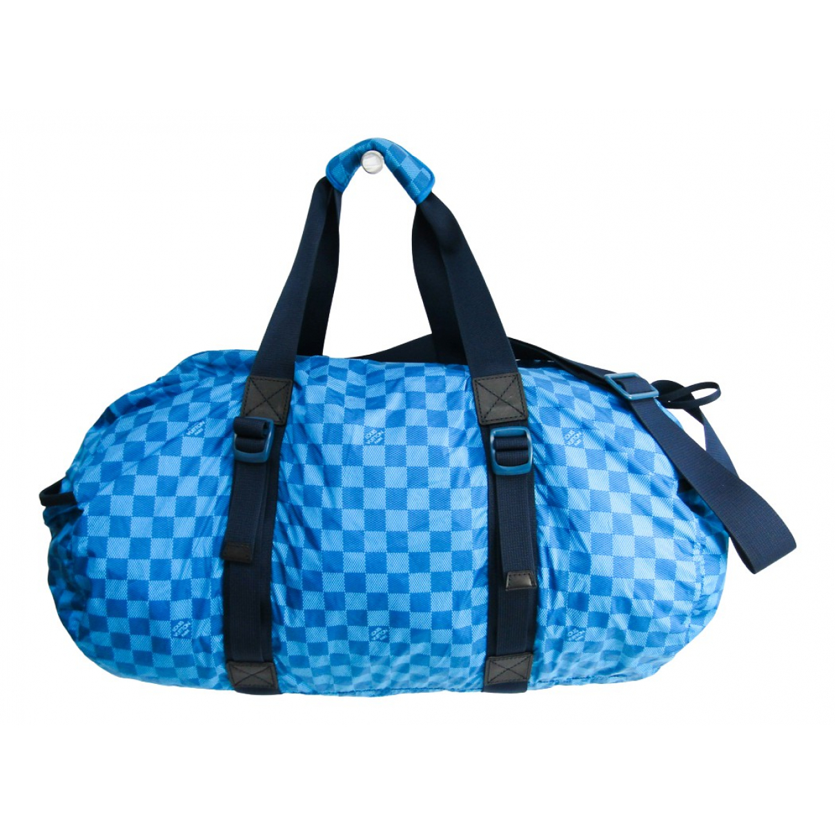 Louis Vuitton - Sac   pour homme en toile - bleu