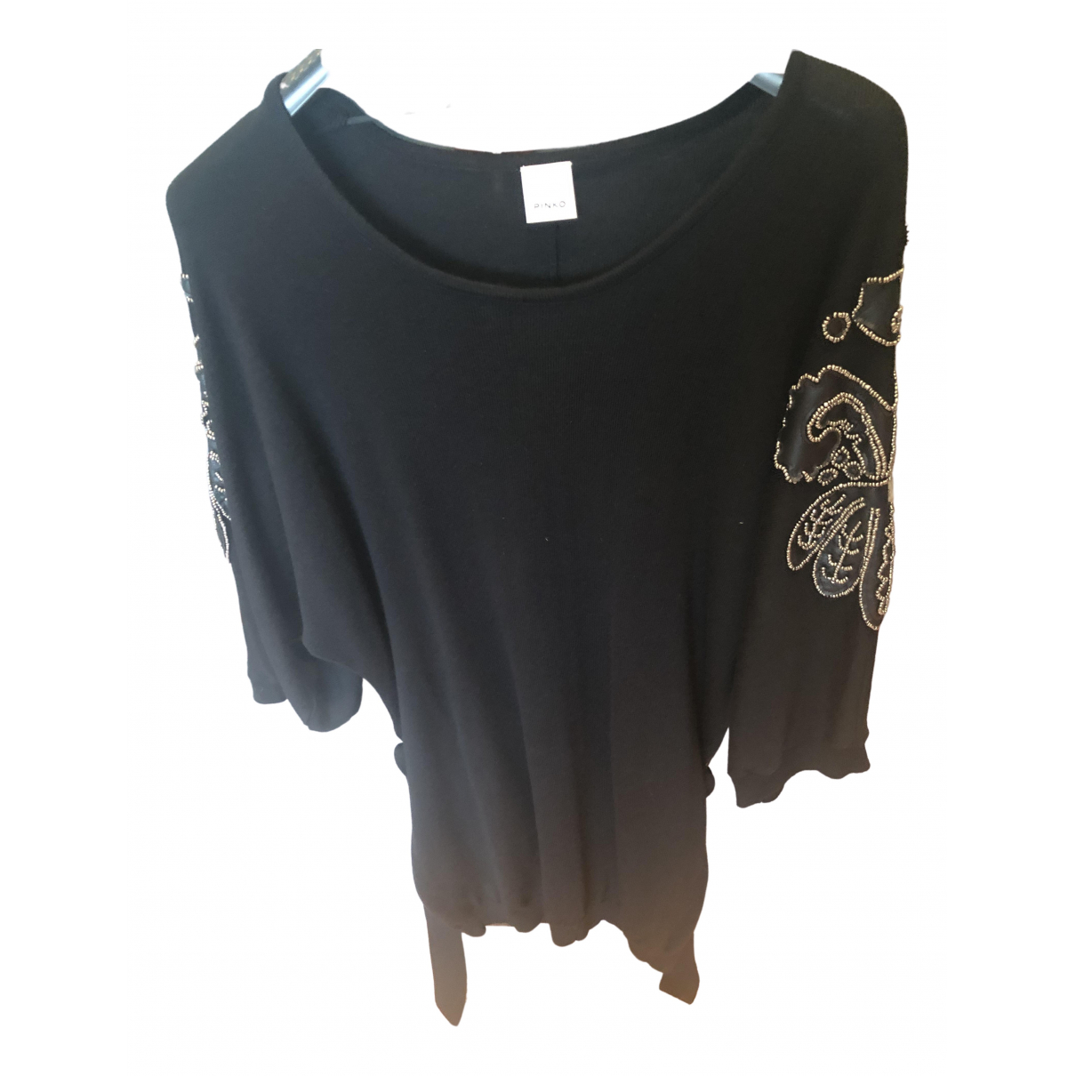 Pinko - Robe   pour femme en laine - noir