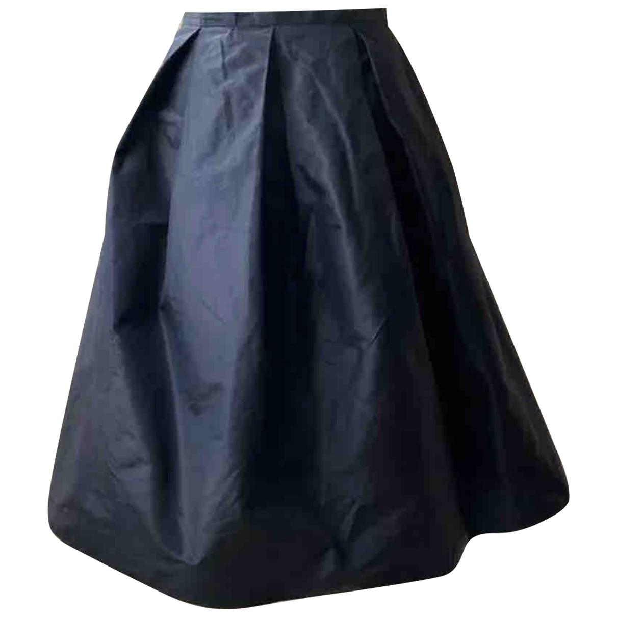 Max Mara N Black Silk skirt for Women 38 IT