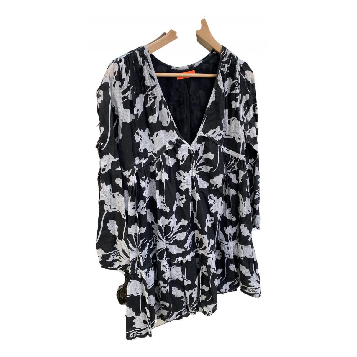 Ba&sh N Black Cotton dress for Women 38 FR
