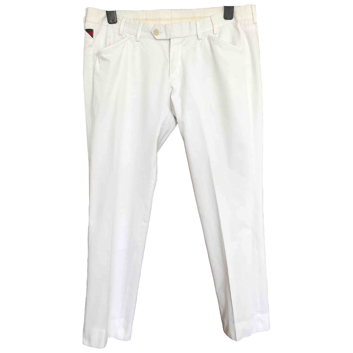 Gucci \N White Trousers for Men 52 IT