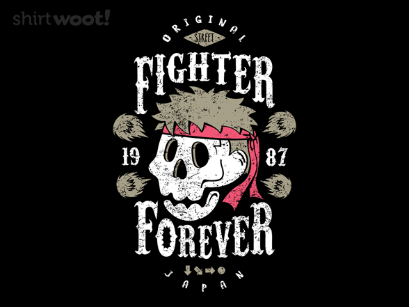 Fighter Forever Ryu T Shirt