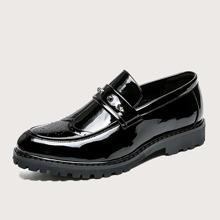 Men Studded Decor Dress Shoes