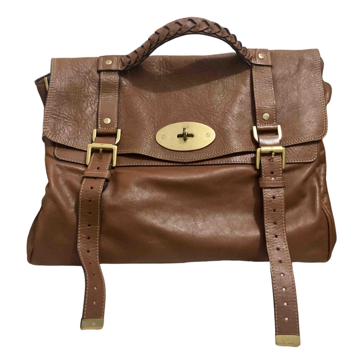 Mulberry Alexa Brown Leather handbag for Women N