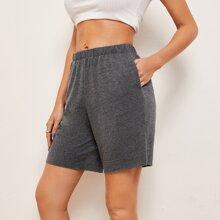 Heather Grey Shorts
