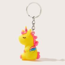 Unicorn Charm Keychain
