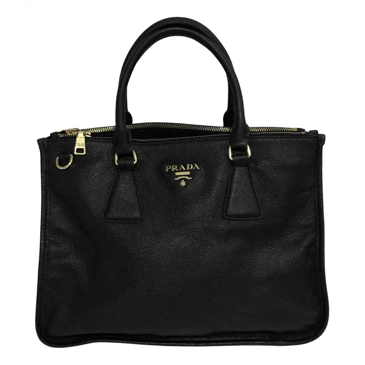 Prada - Sac a main Esplanade pour femme en cuir - noir