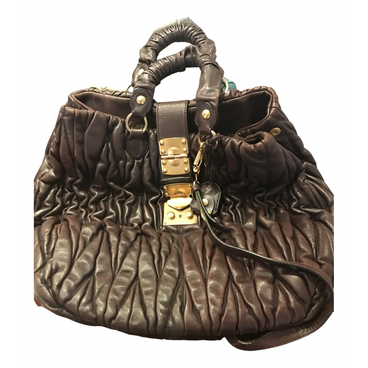 Miu Miu \N Handtasche in Leder