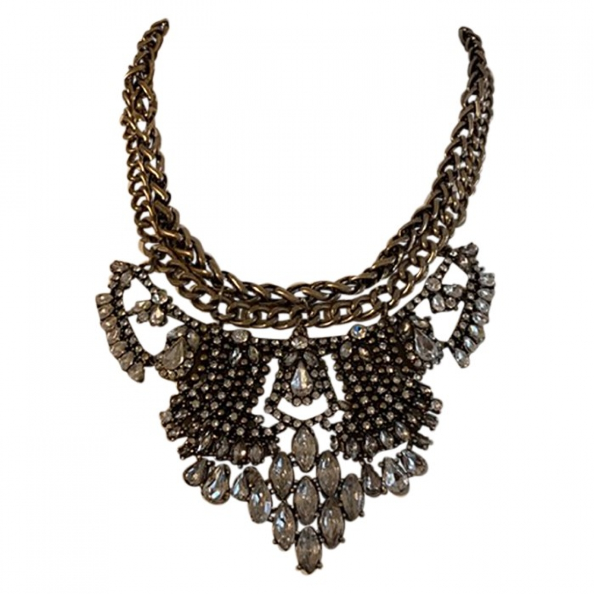 Non Signe / Unsigned \N Kette in  Metallic Metall