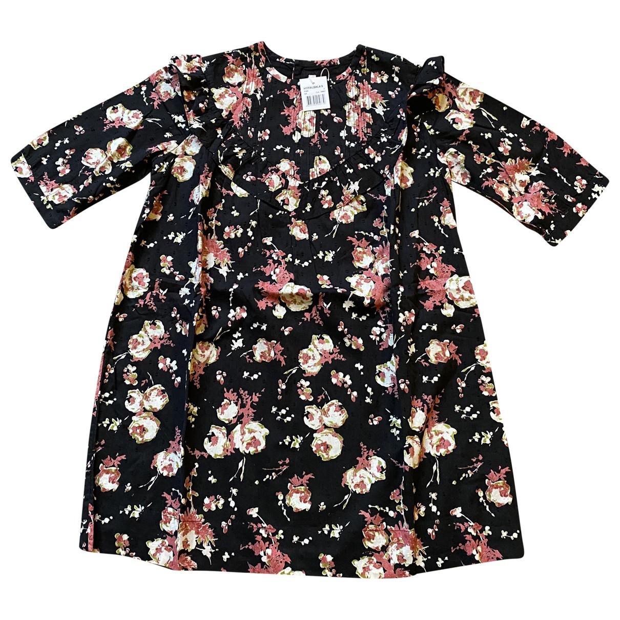 Bonpoint - Robe    pour enfant en coton - elasthane - multicolore