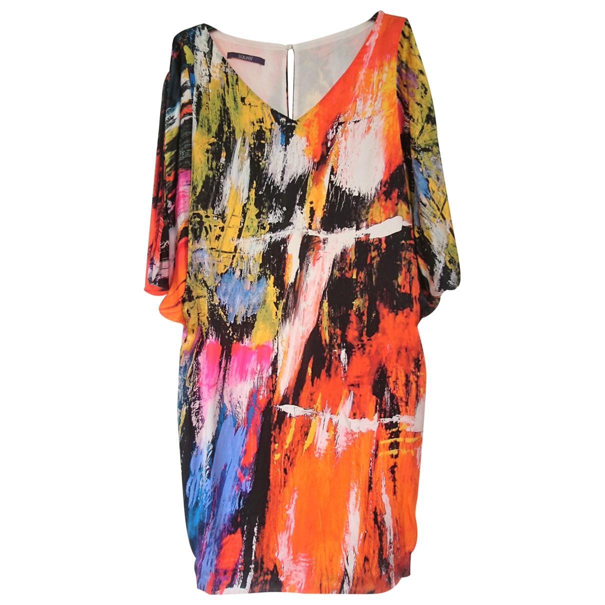 Laurel \N Multicolour Silk dress for Women 42 IT