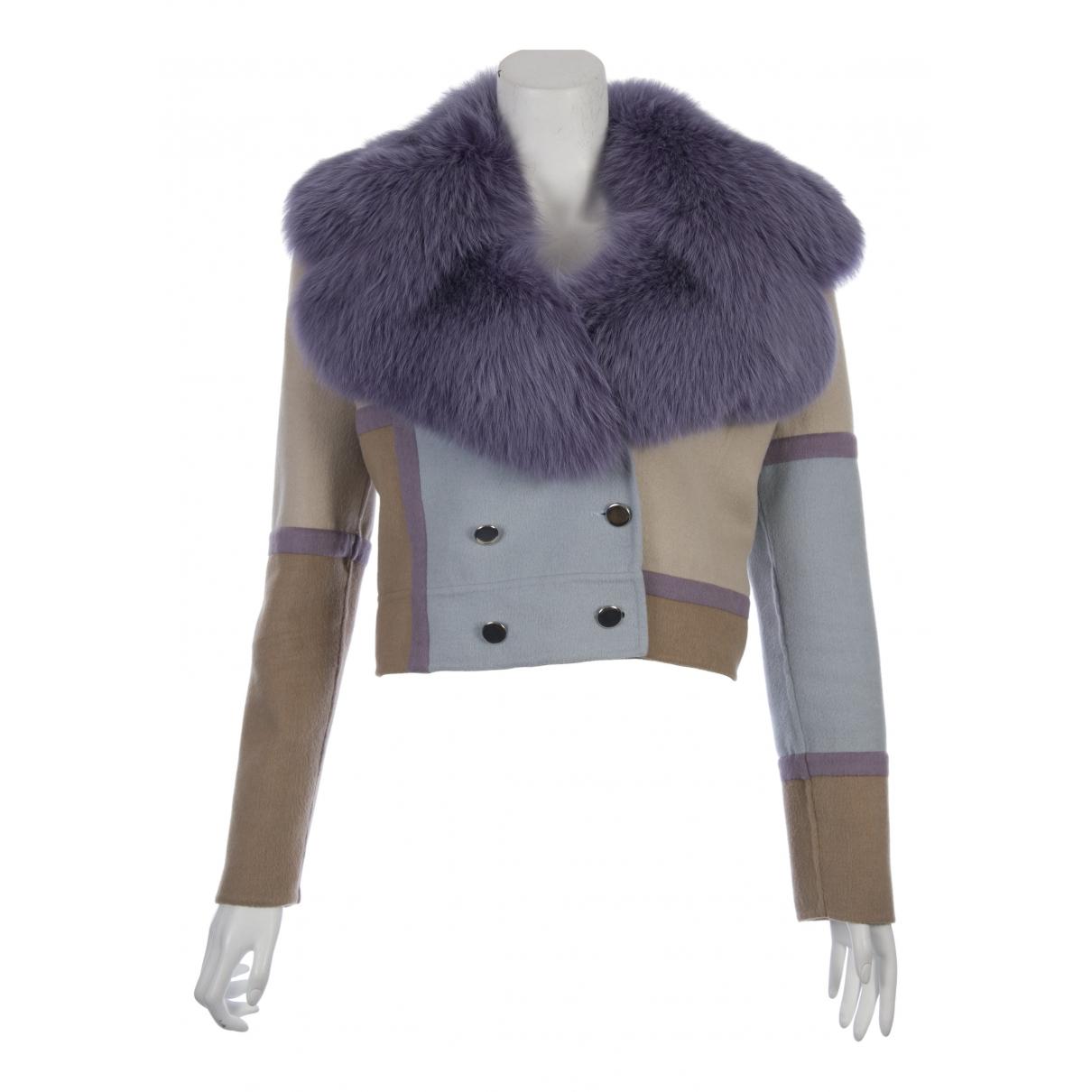 Valentino Garavani - Veste   pour femme en laine - multicolore
