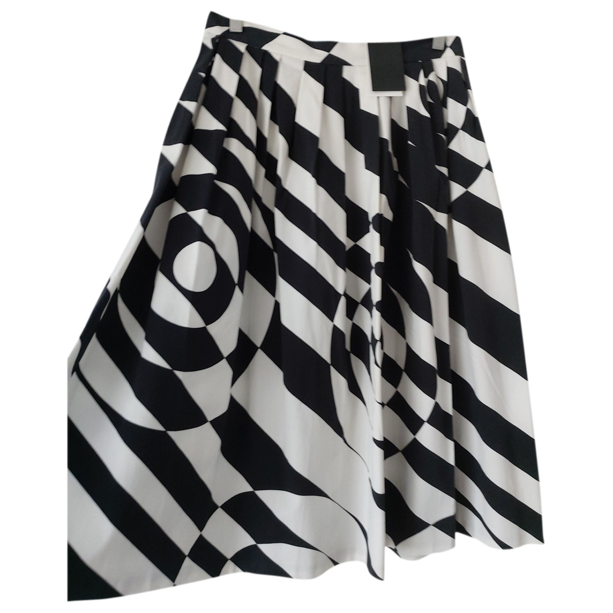 Raoul \N Multicolour Cotton - elasthane skirt for Women 8 US