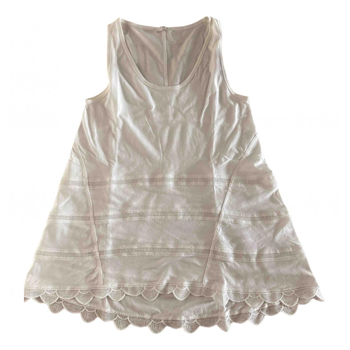 Chloé \N White Cotton  top for Women S International
