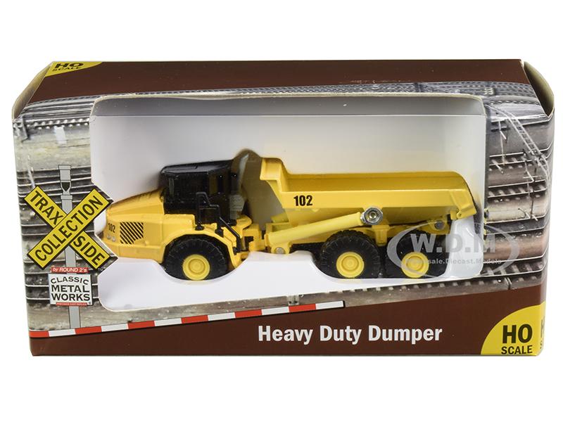 Heavy Duty Dumper Truck Yellow