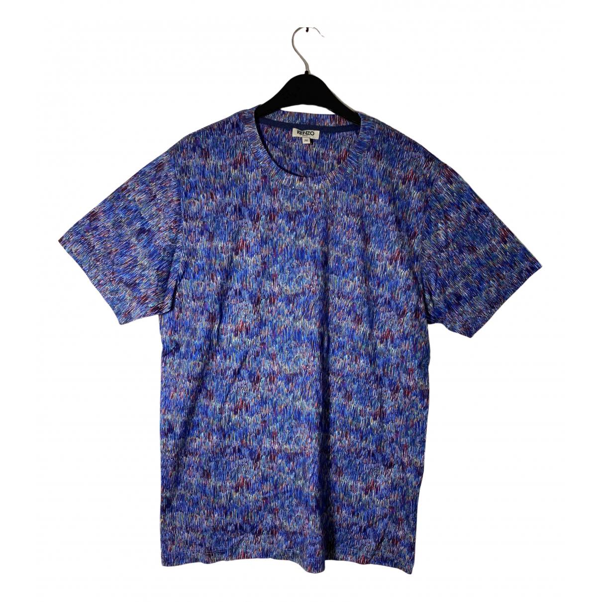 Kenzo - Top   pour femme en coton - multicolore