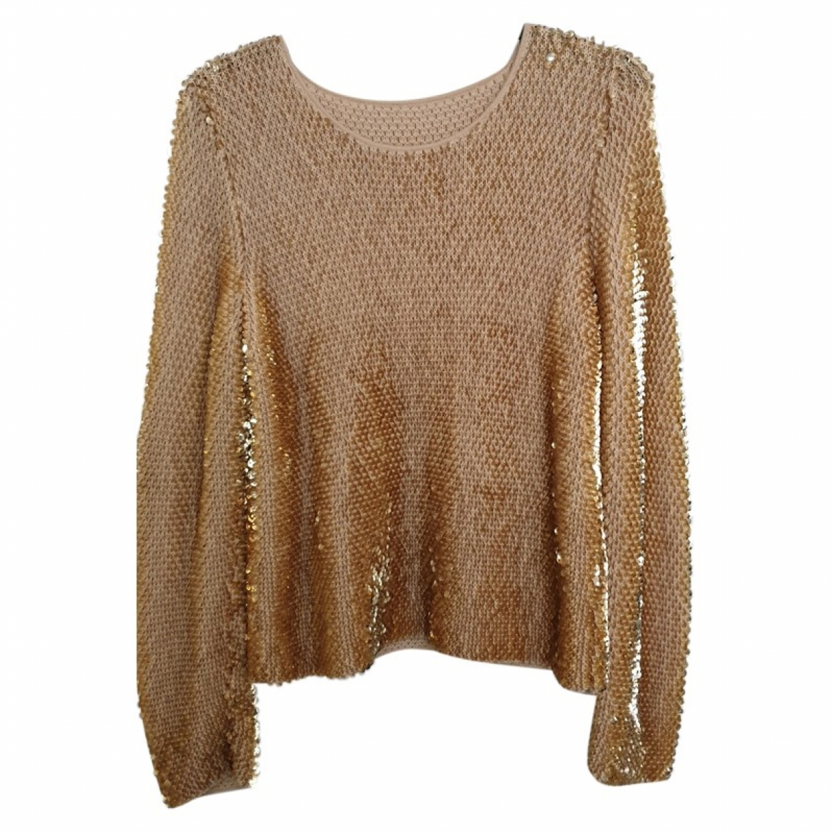 Escada \N Pullover in  Gold Wolle