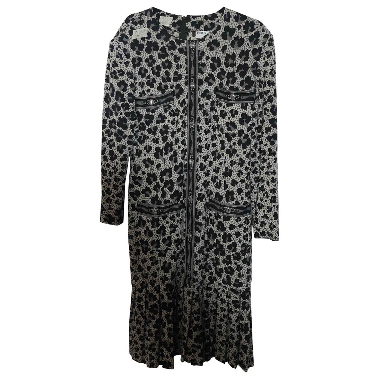 Pierre Cardin - Robe   pour femme en coton - elasthane - multicolore