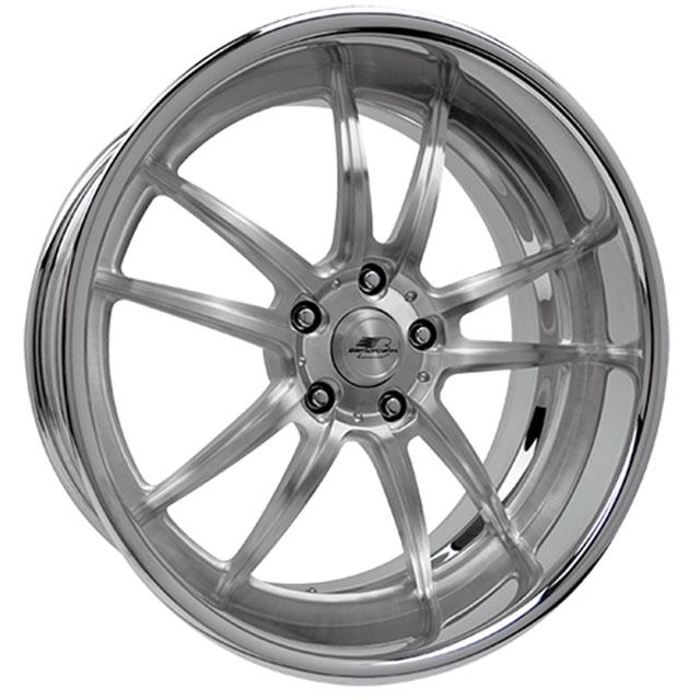 Billet Specialties MX90225Custom Sebring Wheel 22x10.5