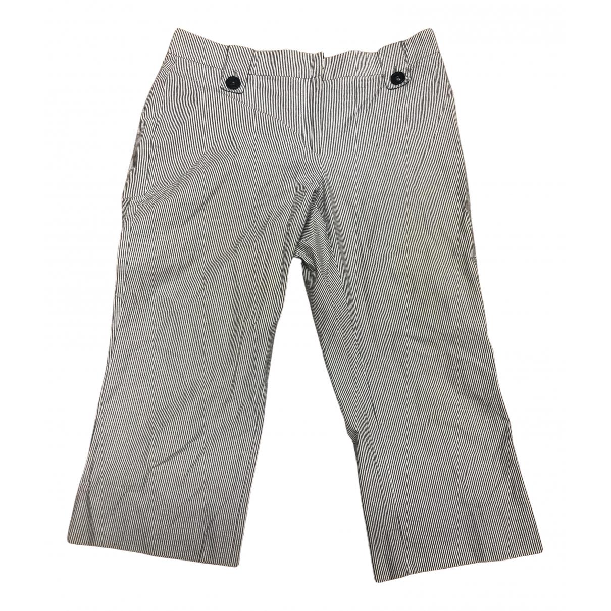 Burberry \N White Cotton Shorts for Women 10 UK