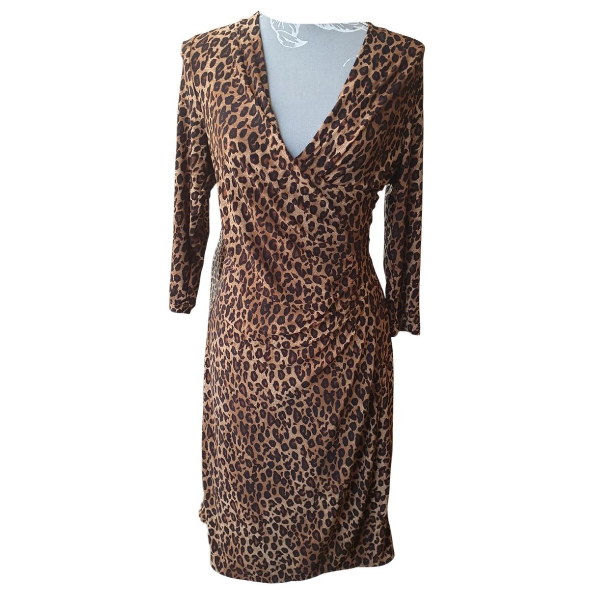 Lauren Ralph Lauren \N Multicolour Cotton - elasthane dress for Women 10 UK