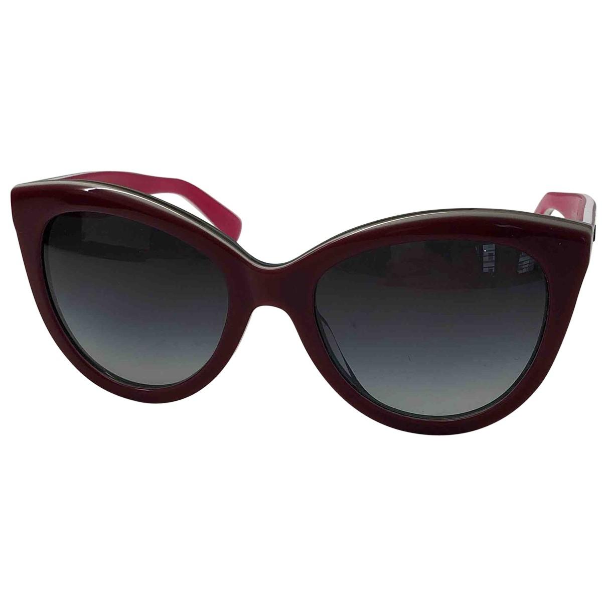 Dolce & Gabbana - Lunettes   pour femme - bordeaux
