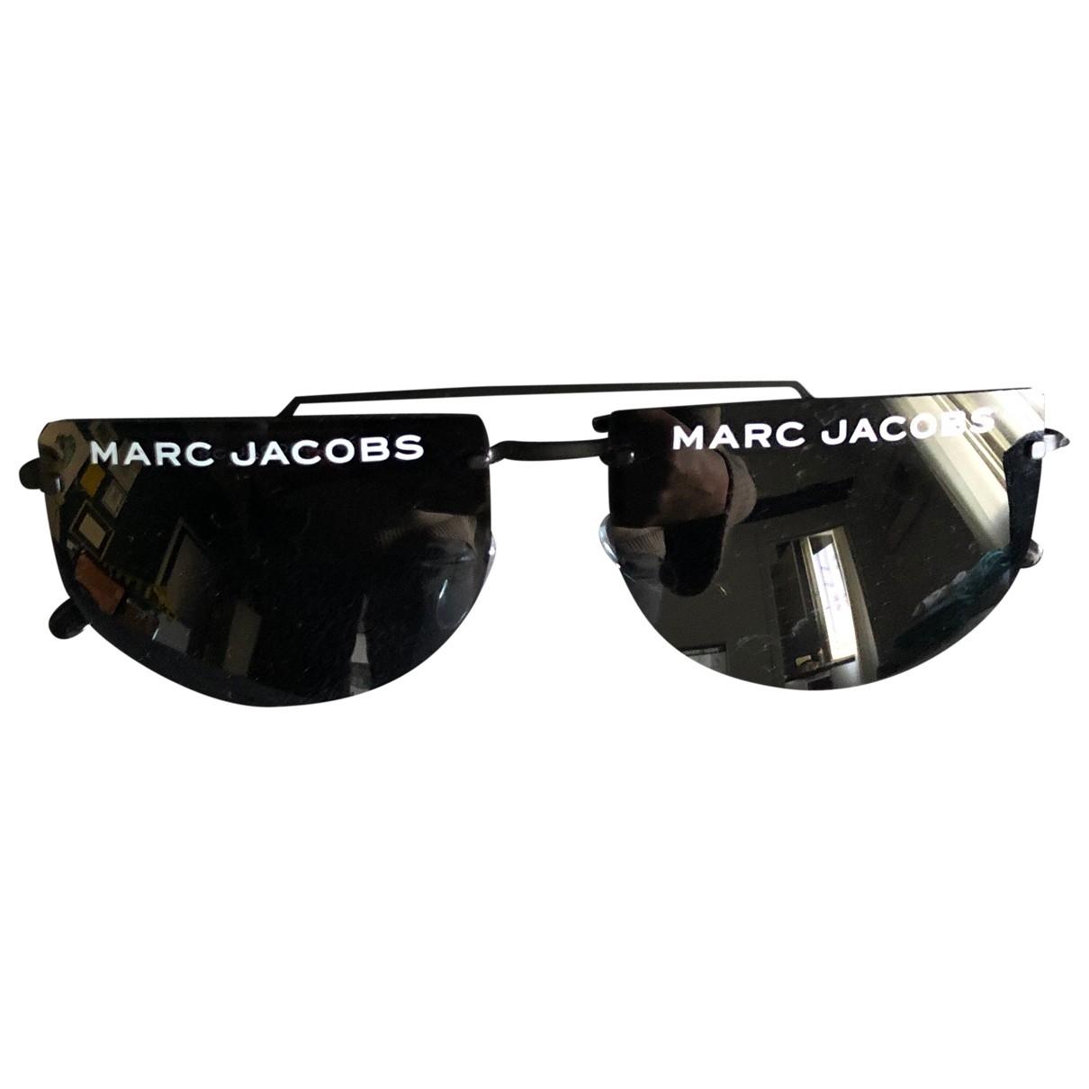 Marc Jacobs - Lunettes   pour femme en metal - noir